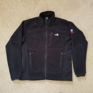 The North Face Black Zip up Sweater Jacket